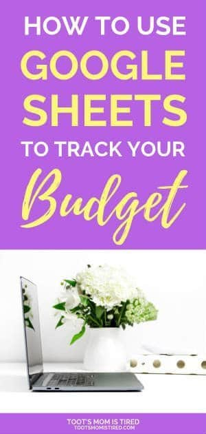 How to use Google Sheets to Track Your Budget | Track your budget online for free with this simple spreadsheet, Track your expenses and income, track your spending with this free tool #budgeting #budget #budgettracker