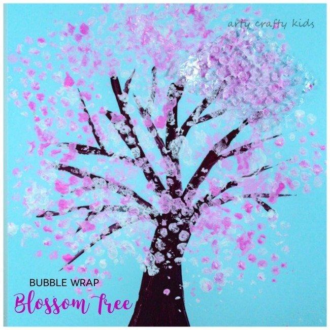 Bubble Wrap Spring Blossom Tree