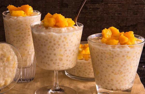 Mango & Tapioca Pudding