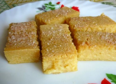 Tapioca Pudding Bars