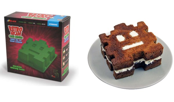 Space Invaders Cake Mould