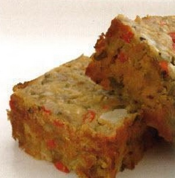 Lentil and cashew nut roast