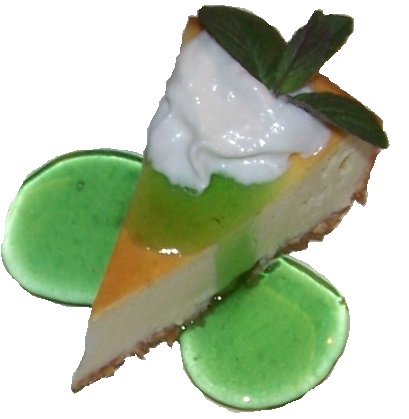 Mint Julep Cheesecake