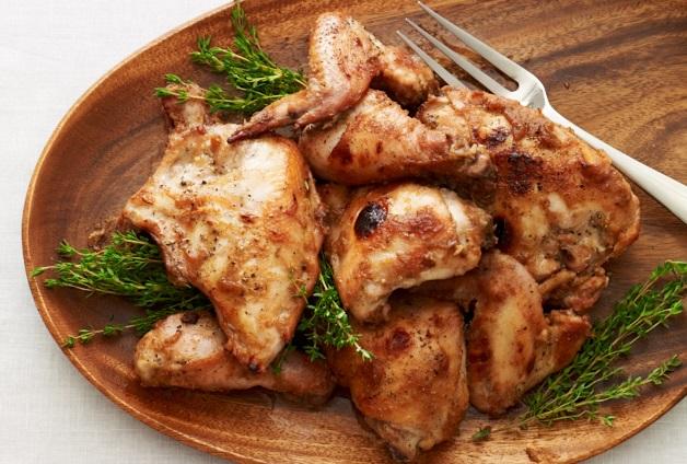 Date Glazed Roast Chicken