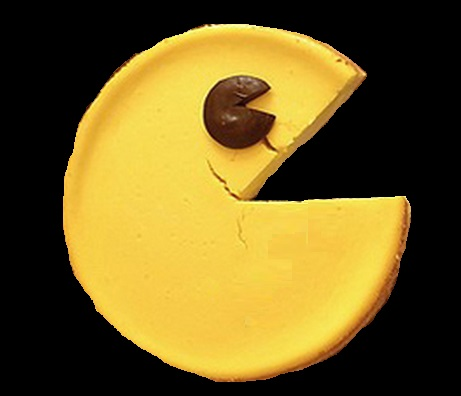 Pac-Man Cheesecake