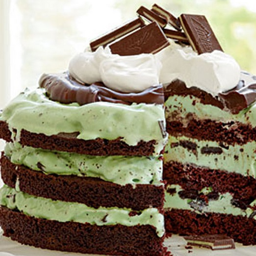 After Eight Mint Chocolate Cake
