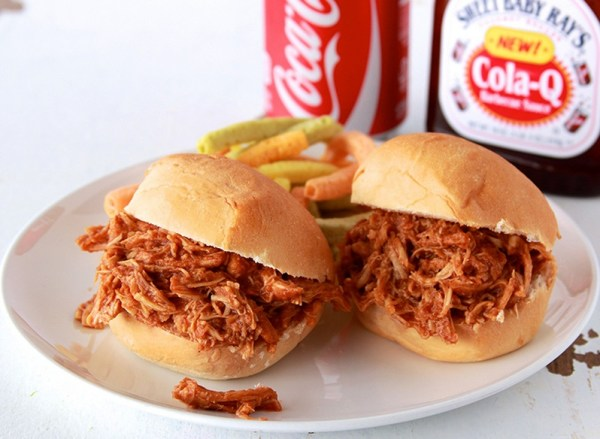 Coca~Cola BBQ Pulled Chicken