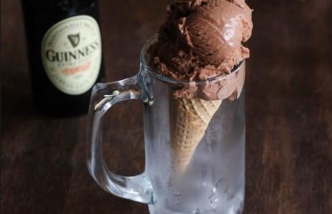 Guinness Dark Chocolate Ice Cream