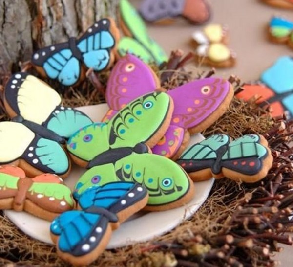 Cookies That Look Like Butterflies