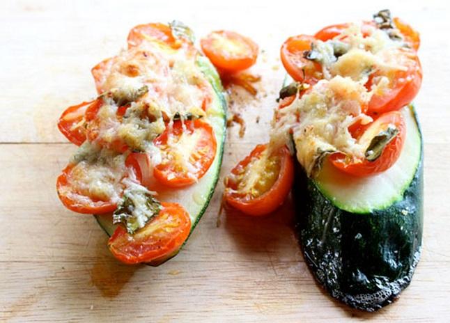 Zucchini Pizza Slices