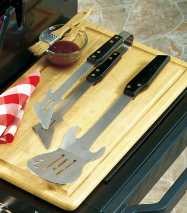Guitar Shaped BBQ Grilling Tools