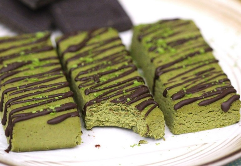 Homemade Green Tea Fudge
