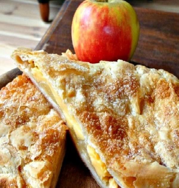 Custard and Apple Strudel