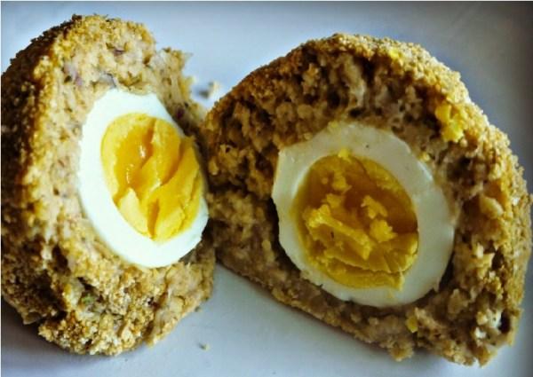 Chickpea Scotch Eggs
