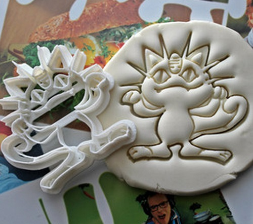 Pokemon Cookie Cutters
