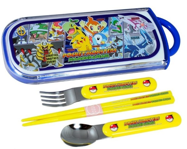 Pokemon Chopsticks and Cutlery Set