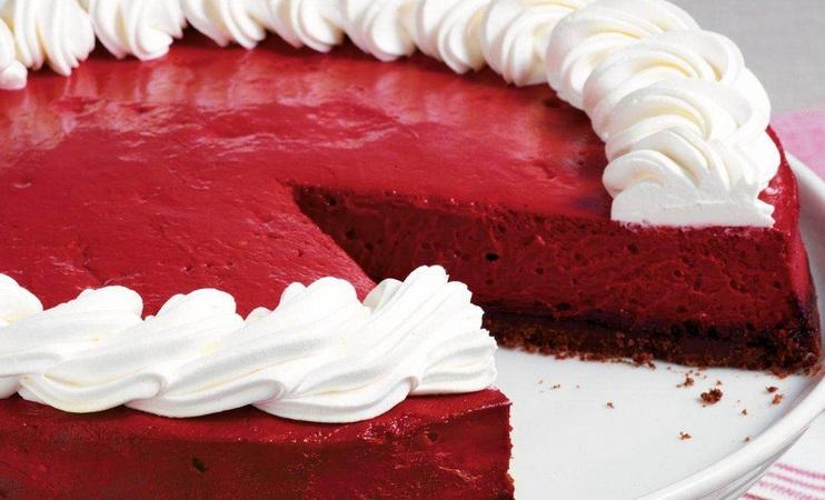 Betty Crocker Red Velvet Cheesecake