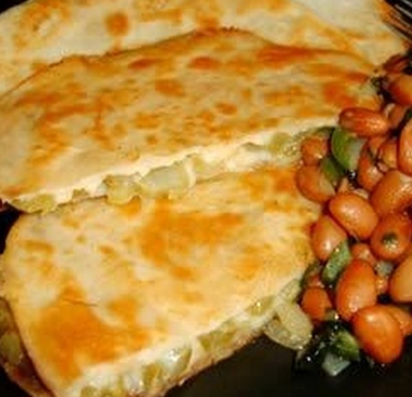 Cactus and Cheese Tortillas