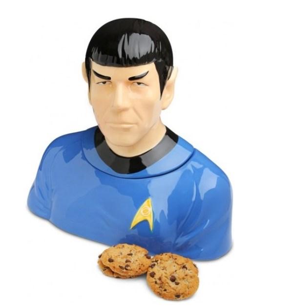 Spock Cookie Jar