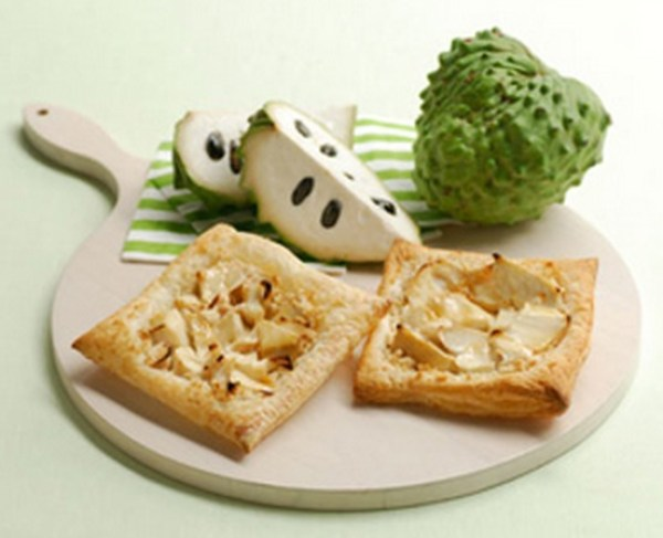 Custard Apple Rustic Tart