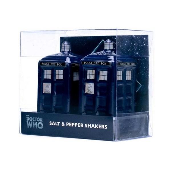 TARDIS Salt & Pepper Shakers