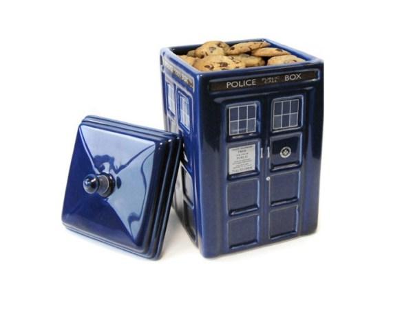 TARDIS Cookie Jar