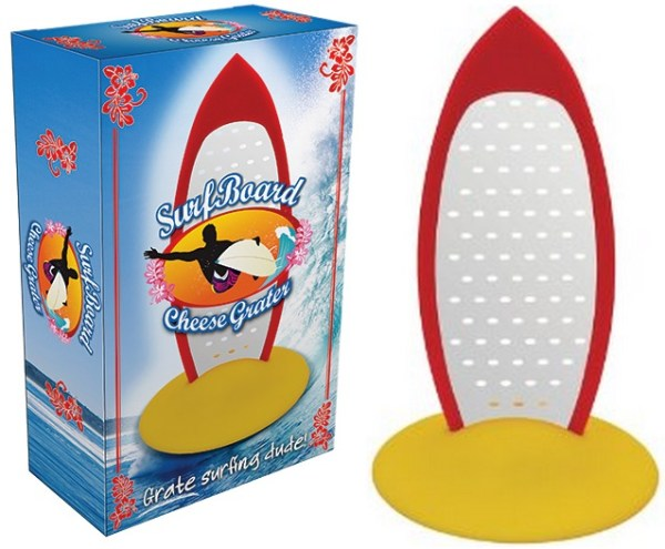 Surfboard Cheese Grater