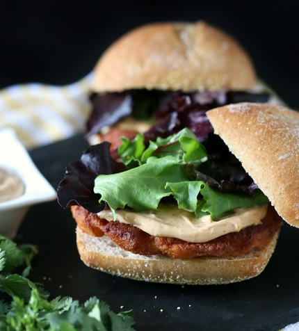 Spicy Peanut Butter Sauce Burger Topping