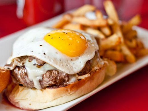 Fried Egg Burger Topping