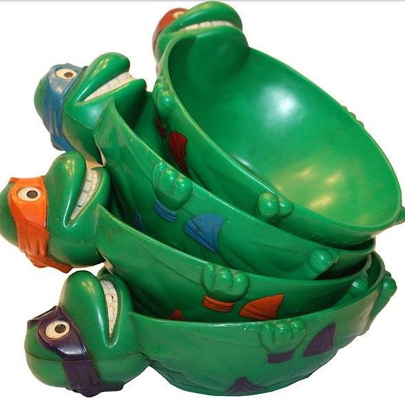 Ninja Turtle Cereal Bowls
