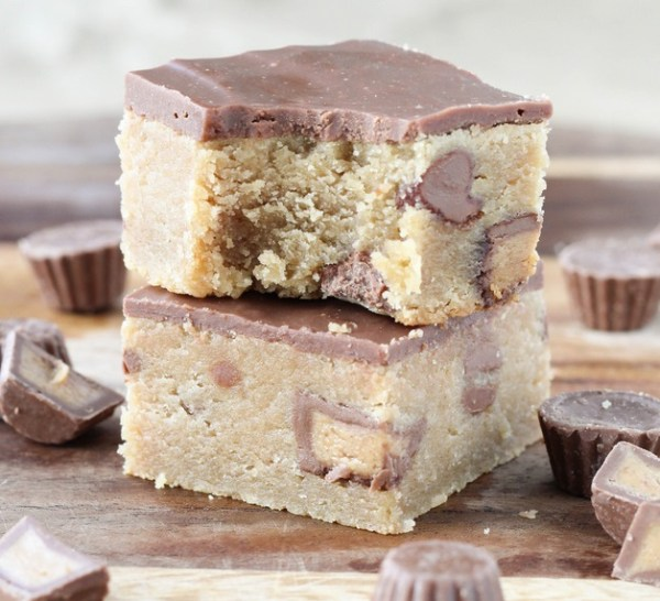 Fudge Style Peanut Butter & Milk Chocolate Bars