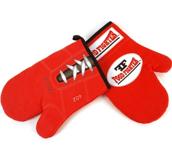 Food Fighter Boxing Oven Mitts