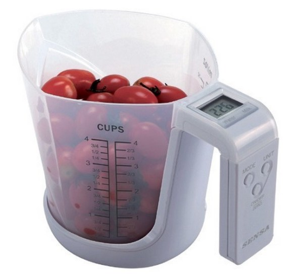 Jug Kitchen Scales