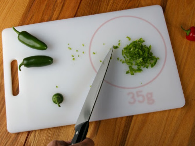 Cutting Board Kitchen Scales