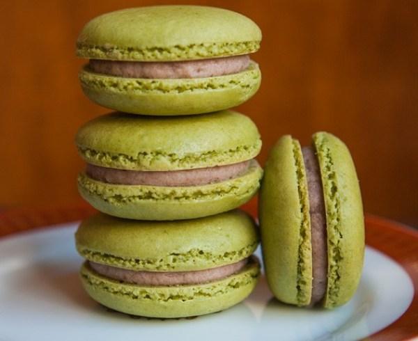 Green Tea Macarons