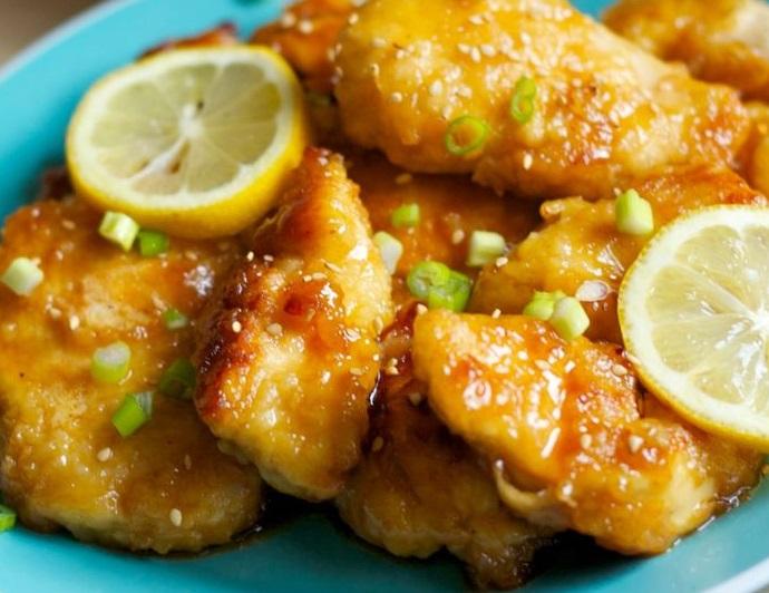 Asian Lemon Fried Chicken Recipe