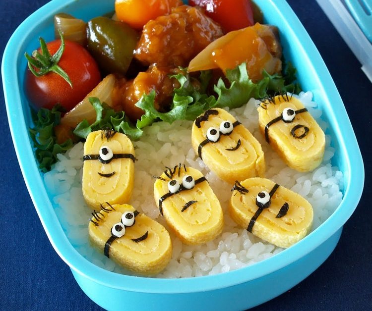 Minions Bento Lunch Box Art