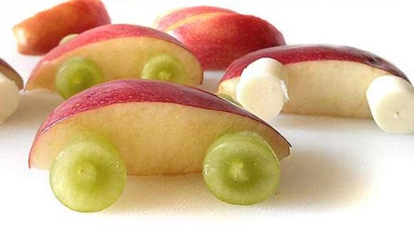 Fruit Racecars
