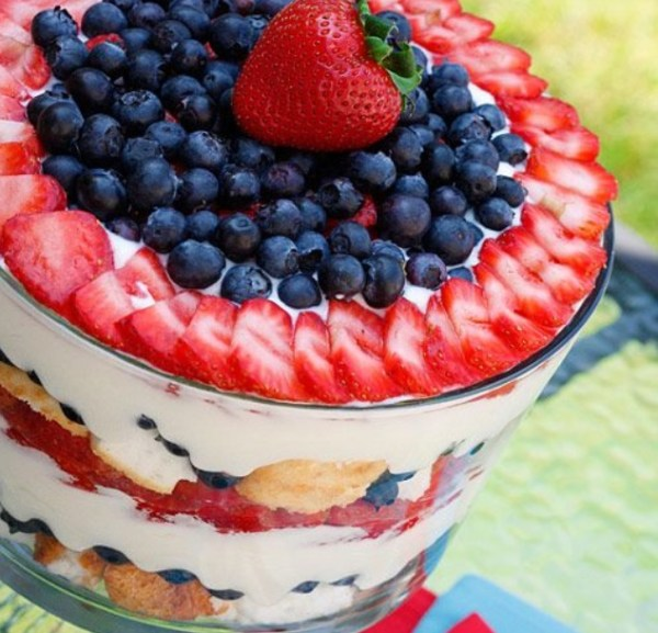 Independence Day Trifle
