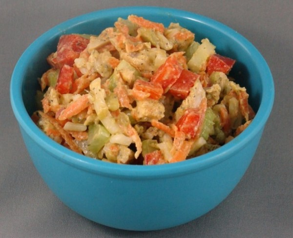 Healthy No Mayonnaise Chicken Salad