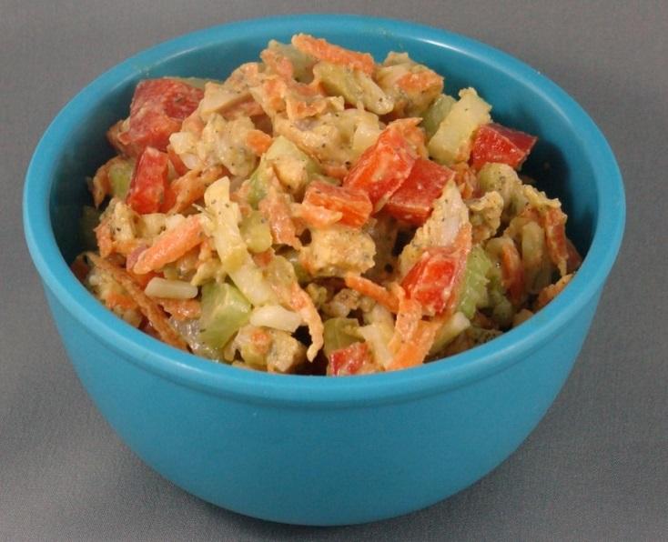 Healthy No Mayonnaise Chicken Salad
