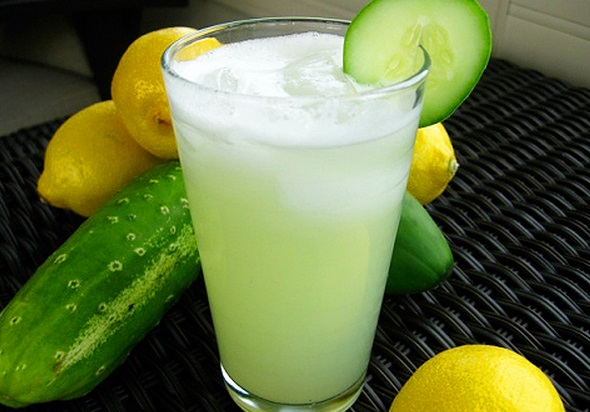 Cucumber Lemon Juice