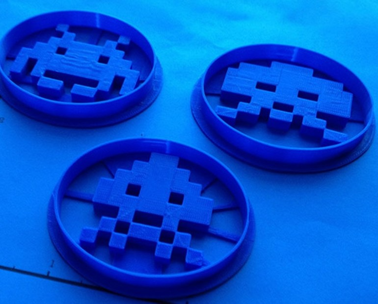 Atari Space Invaders Cookie Cutters