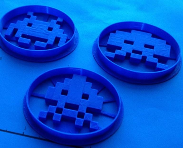 Atari Space Invaders Cookie Cutters