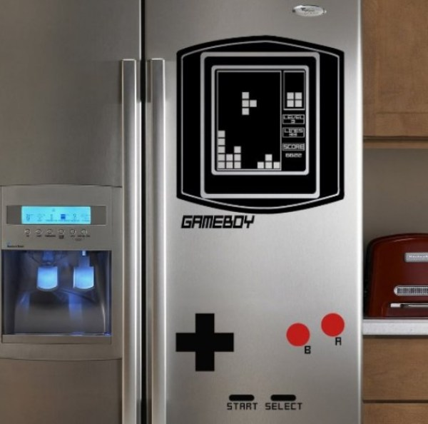 Tetris Fridge Vinyl Decal Stickers