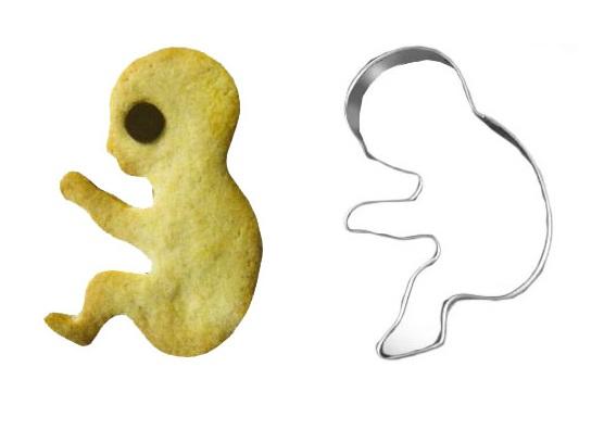 Fetus Cookie Cutter