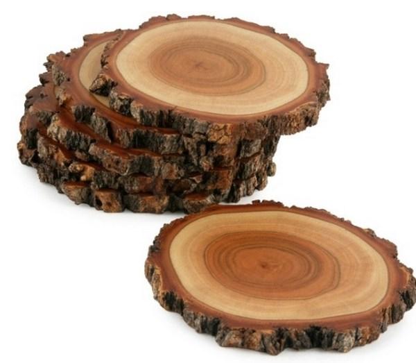 Tree Slice Drink Coasters