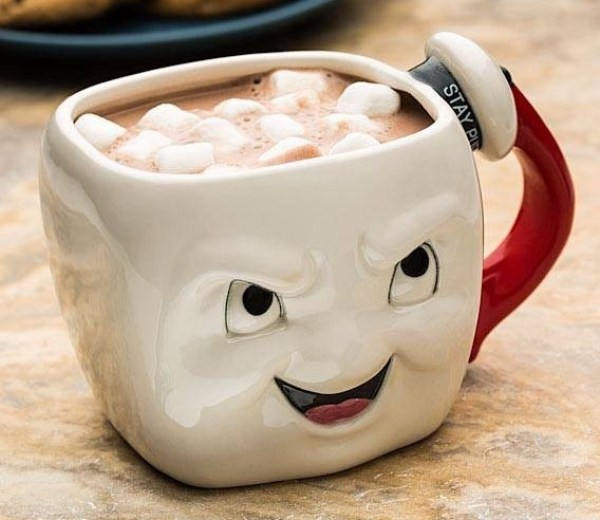 Ghostbusters: Stay Puft Marshmallow Face Mug