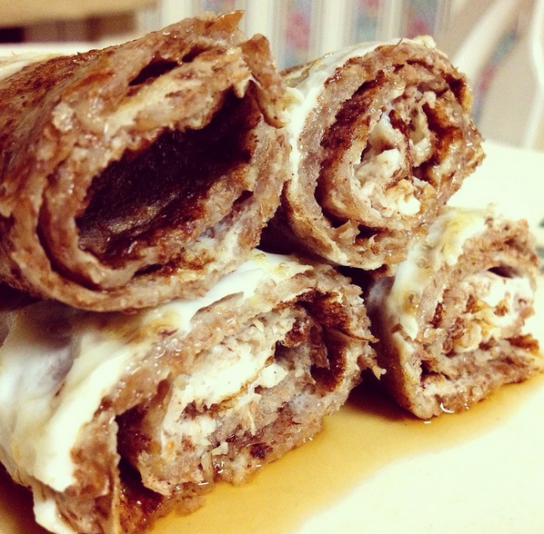 Cinnamon French Toast Roll-Ups