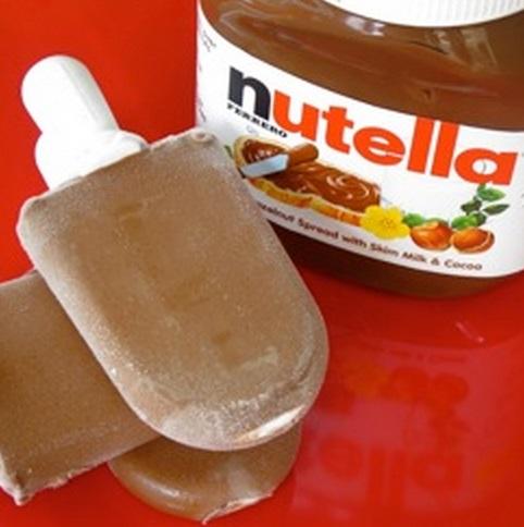 Homemade Nutella Popsicles Recipe